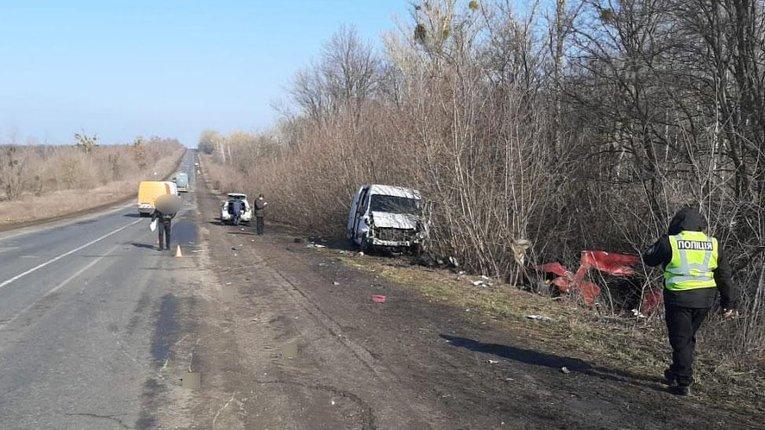 У аварії на Полтавщині постраждали четверо людей