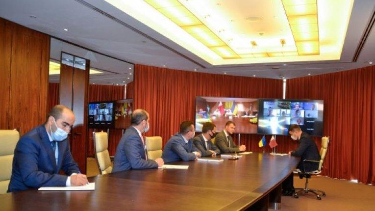 «Укрзалізниця» та арабські шейхи спільно розвиватимуть Миколаївський порт
