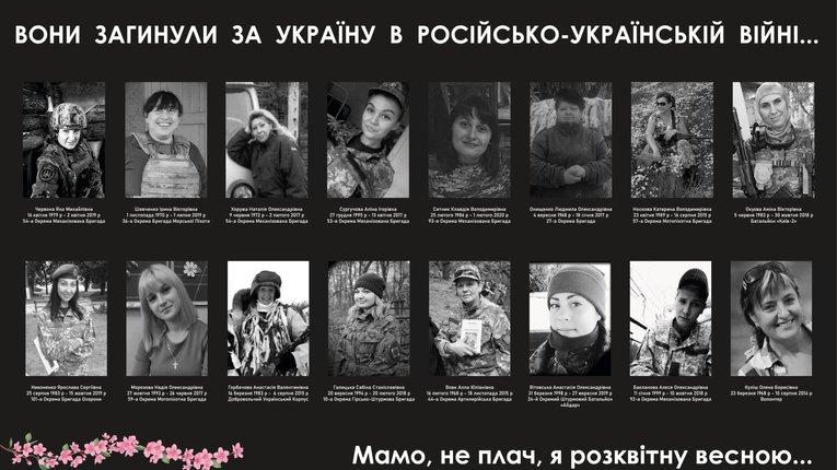 В Україні вийшов фільм присвячений пам'яті загиблих в російсько-українській війні жінок