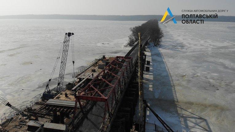 Сьогодні перекрили міст через Сулу на Полтавщині