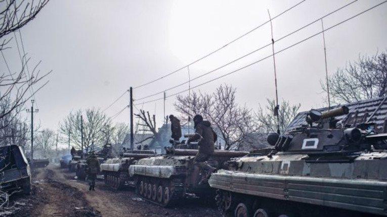 Ілюстративне фото. БМП російської 37-ї омсбр на Донбасі