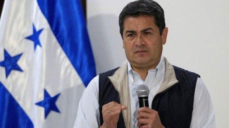 Президент Гондурасу Хуан Орландо Ернандес