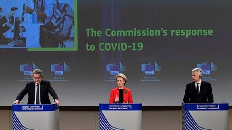 Керівництво ЄС запровадить «паспорт вакцинації» з червня 2021 року