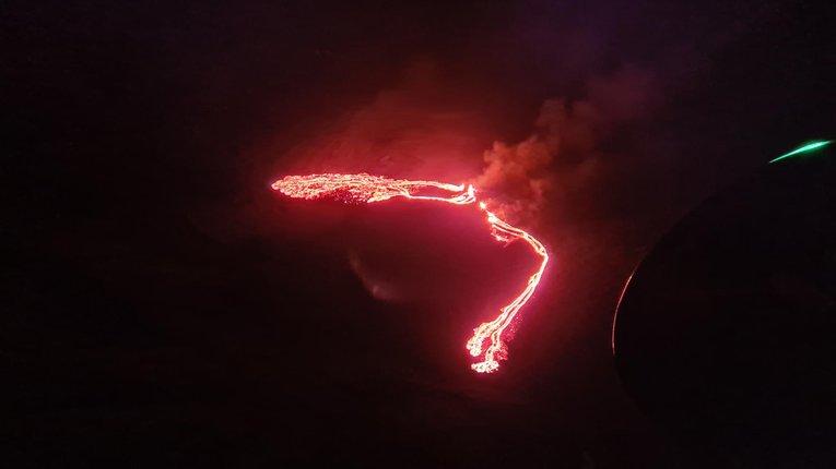 Виверження вулкану Фаґратальсфьятль