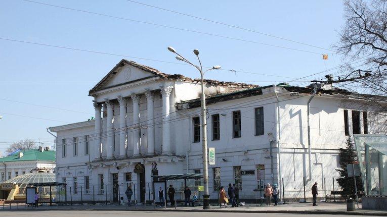 Будинок дворянського зібрання в Полтаві реставруватимуть за чотирма проєктами