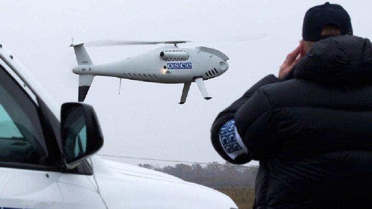 Проросійські терористи збили безпілотник ОБСЄ