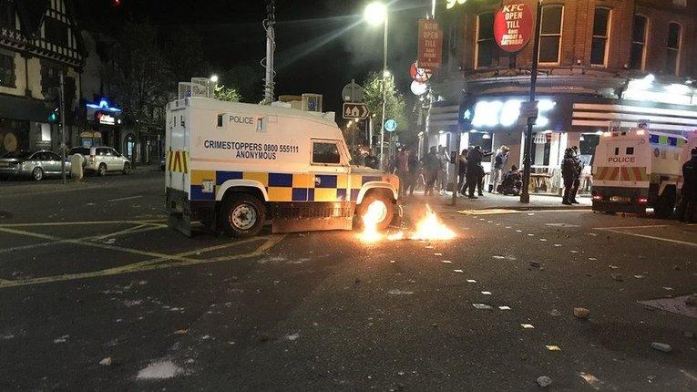 Ірландці Ольстеру протестують проти жорсткого британського карантину