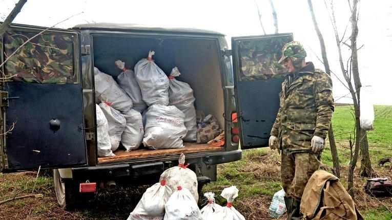 Біля Кременчука знайшли останки 40 бійців