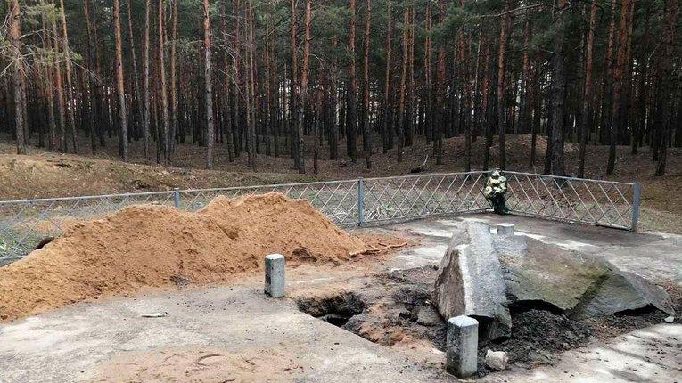 У Малій Перещепині зруйнували пам'ятник на могилі хана Кубрата