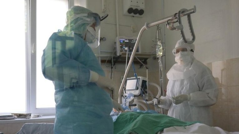 У лікарнях Диканьки і Котельви заповнені 100% ліжок для хворих на коронавірус