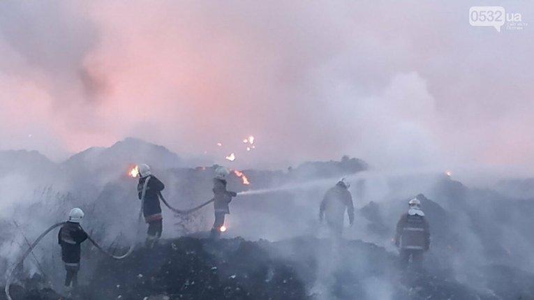 5 днів горить Макухівське сміттєзвалище