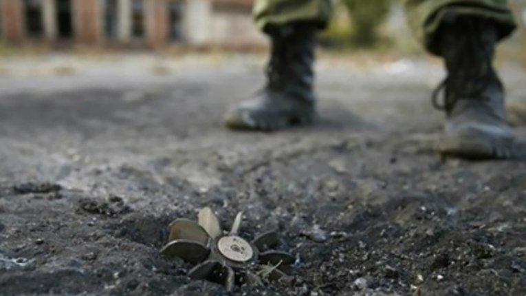 На Луганщині від вибуху міни постраждала цивільна особа