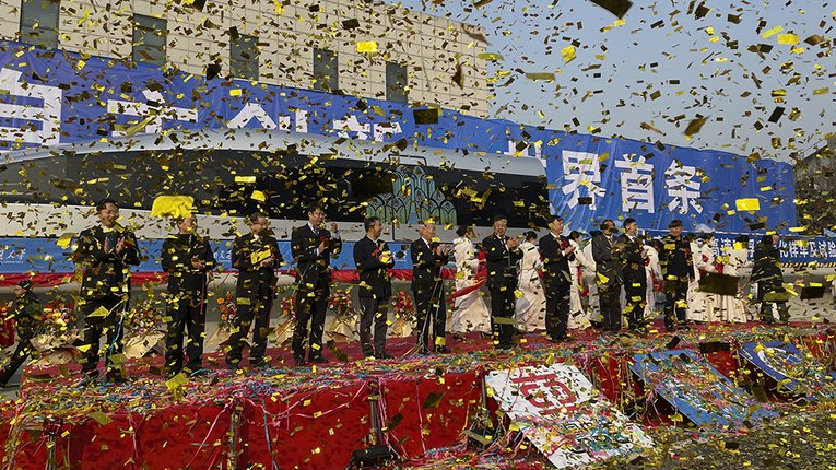 Прототип нового надшвидкісного потягу показали у КНР