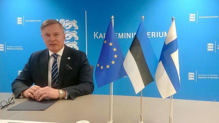 Міністр оборони Естонії Калле Лаанет