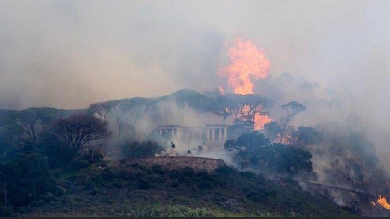 У Кейптауні вщент згоріла унікальна бібліотека