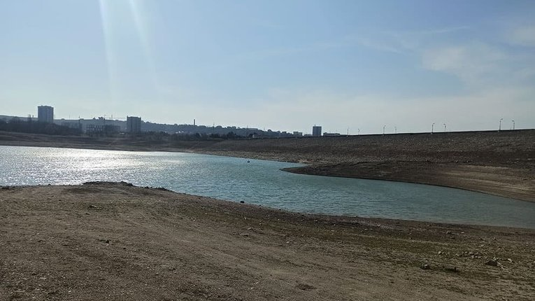 Окупанти у розпачі: води для мешканців Сімферополя вистачить лише на 8 місяців