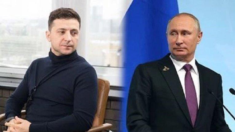Зеленський запропонував Путіну зустрітися на лінії розмежування