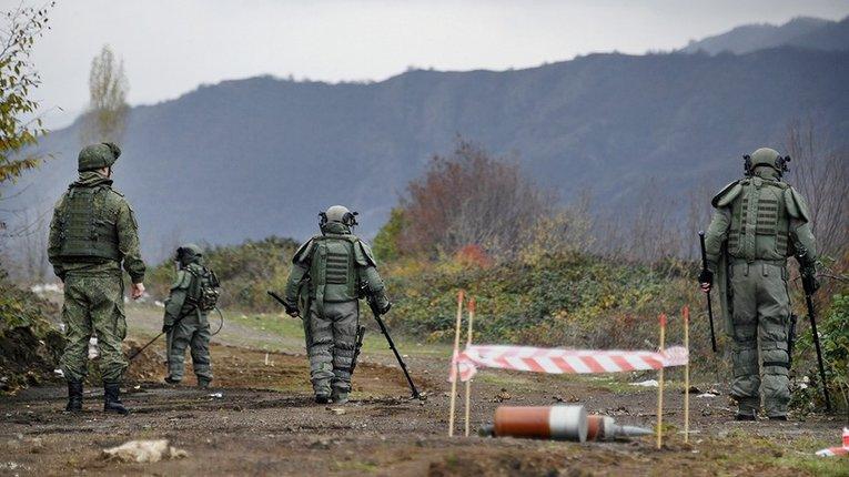 Путінські «Ваньки-миротворці» підірвалися на міні у Карабасі
