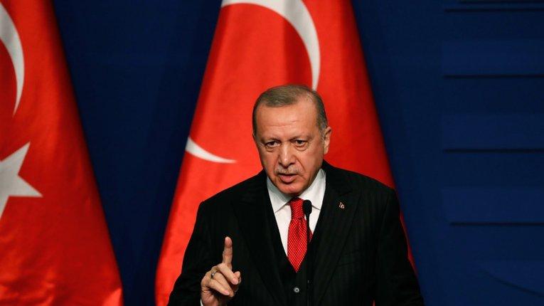 Реджеп Тайїп Ердоган заявив про підтримку палестинців у конфлікті з Ізраїлем
