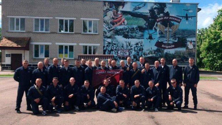 Воїни 95 бригади вирушили на міжнародні навчання Saber Guardian-21