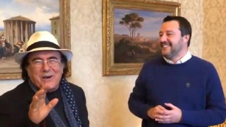 Відомий італійський шансоньє пропонує Сальвіні зустрітися з Путіним на татамі
