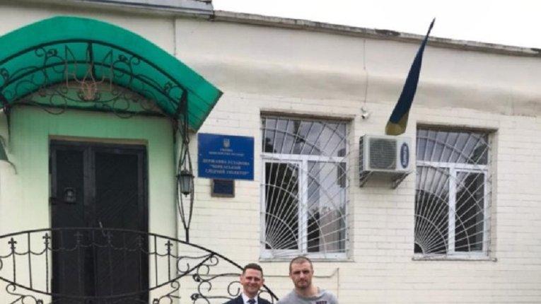 Учасник україно-російської війни Володимир Заремба вийшов із СІЗО