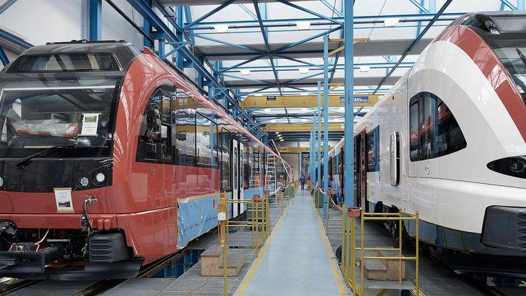 Корпорація «Stadler» обмірковує відкриття виробничих потужностей в Україні