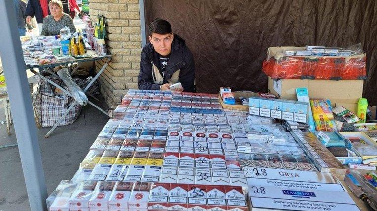 Нелеґальна торгівля тютюновою продукцією у нас на контролі, — «слуга» Гетманцев