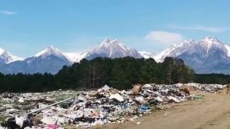Громадяни РФ перетворили заповідник на величезне сміттєзвалище