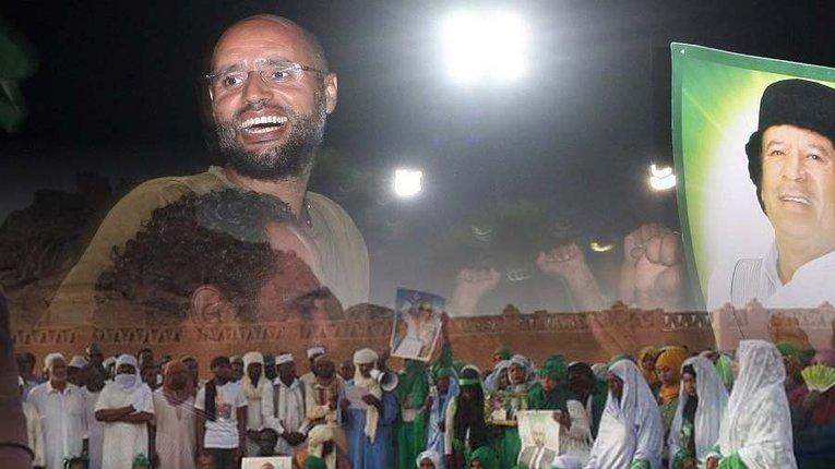 Син диктатора Каддафі планує стати президентом Лівії