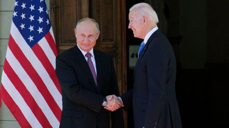 У Женеві завершилися переговори президента США з російським щуром Путіним