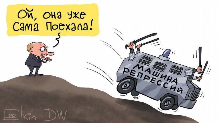 Кремль роздмухає машину репресій, бо путінізм має постійно показувати результативність