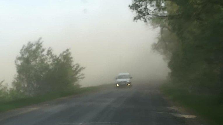 Пилова буря на околиці Полтави