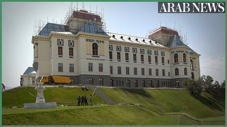 Понівеченому війною Палацу Аміна у Кабулі повернули колишню славу