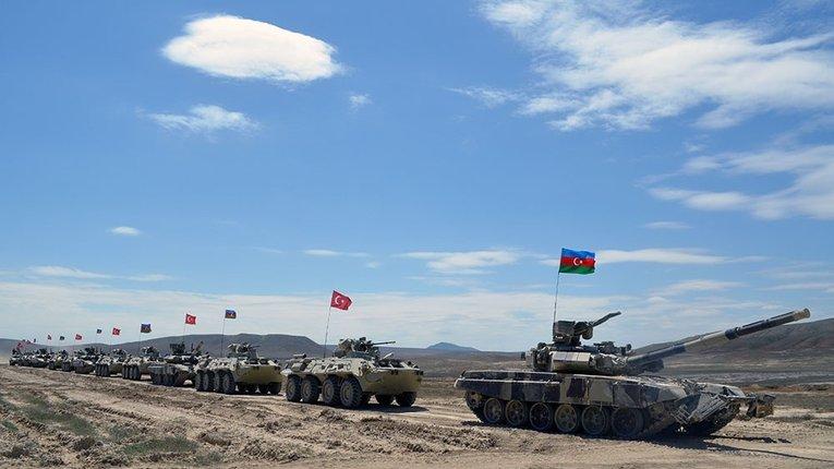 Турецька армія знову на Кавказі – проводить навчання із військом Азербайджану