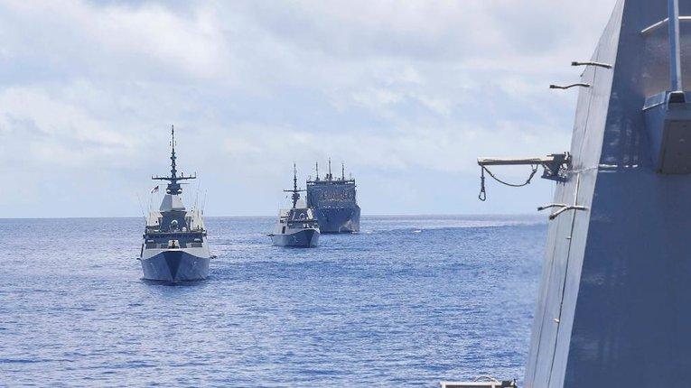 Азійсько-Тихоокеанський реґіон під опікою американського флоту