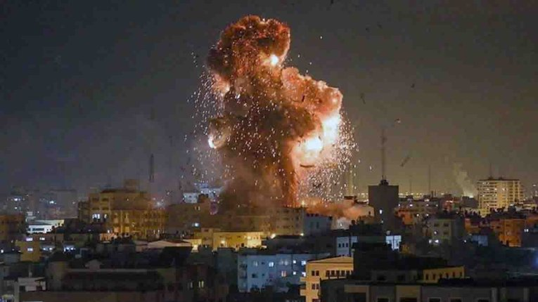 Ізраїль учергове завдав авіаударів по палестинцям Ґази