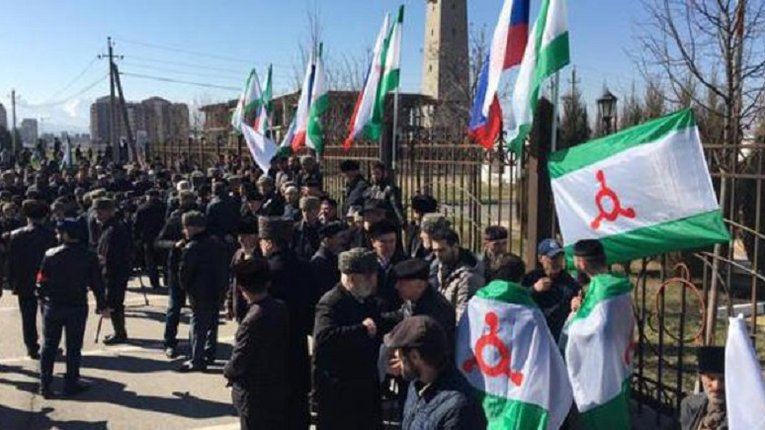 Кремль взявся «чистити» лави бунтівних правоохоронців Інгушетії