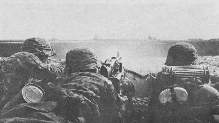 Солдати дивізії Ваффен-СС «Галичина», кулеметна обслуга