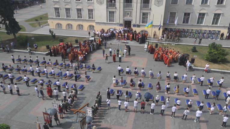 В Дрогобичі перепоховали останки 78-ти місцевих жителів – жертв НКВС