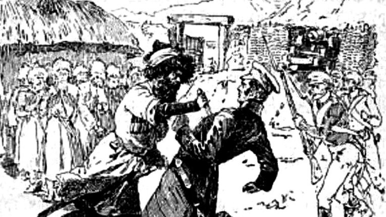 Як мулла Очар-Хаджи вбив двох генералів царської армії за те, що вони образили чеченських старійшин