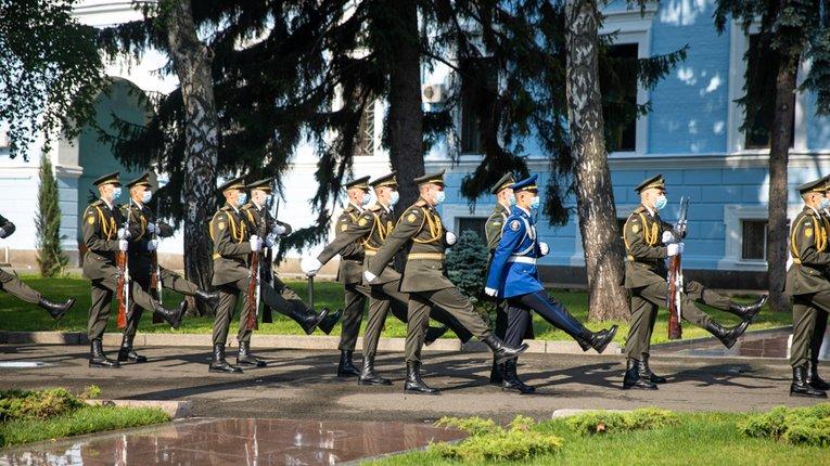 Нацгвардійці вшанували пам'ять побратимів, які загинули в цей день від рук російських загарбників