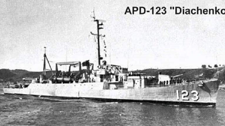 Знай наших: 18 липня 1944 року у США був закладений військовий корабель Alexander Diachenko