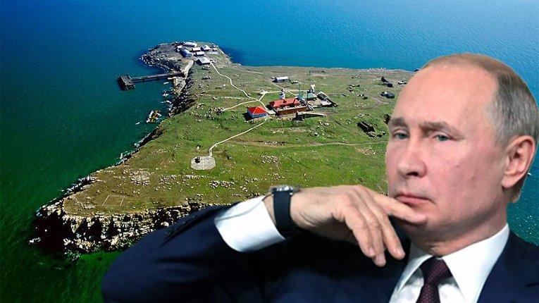 Путін націлився на острів Зміїний