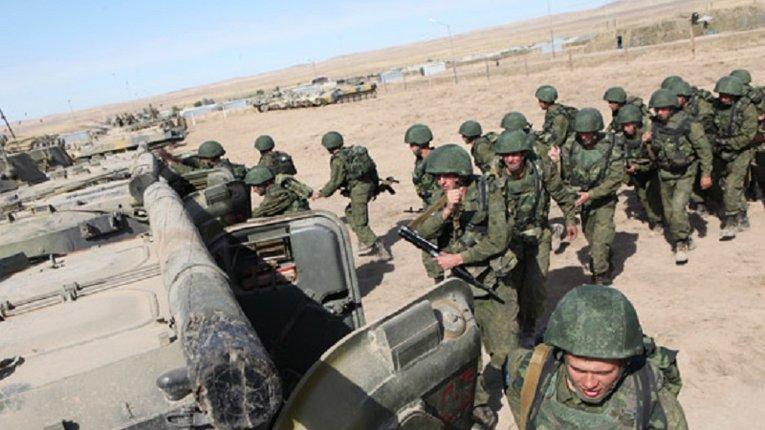 Війська РФ терміново орґанізують навчання на кордоні з Афґаністаном