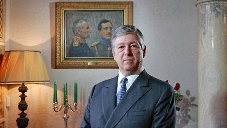Коронований принц Югославії Александер ІІ Караджоржевич на вигнанні