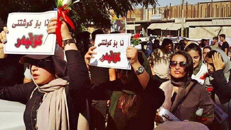 Азербайджанці Ірану вийшли на масові вуличні протести