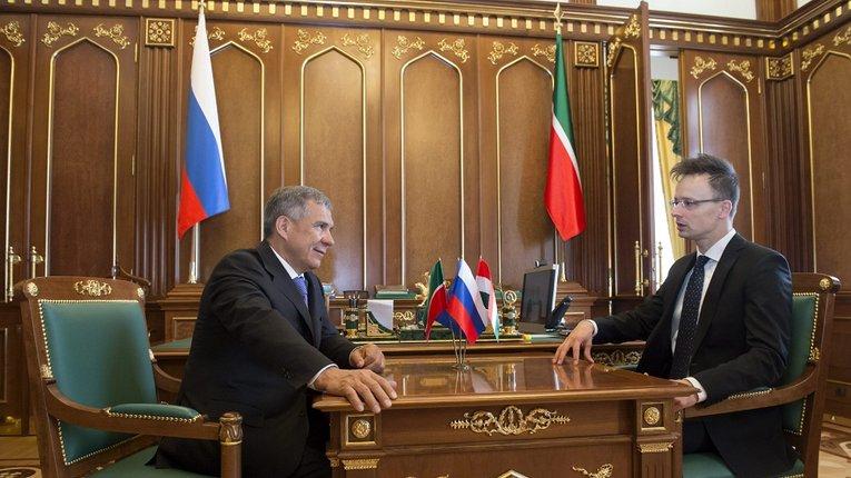 Ресурси понад усе: Будапешт простягнув «руку дружби» Казані