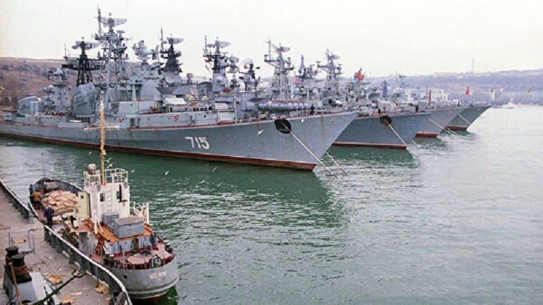 У ВМФ РФ погрожують знищити бойові кораблі України та НАТО на Чорному морі