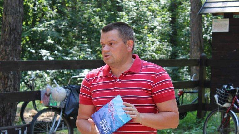 Ветеран російсько-української війни презентував у Пирятині власну поезію